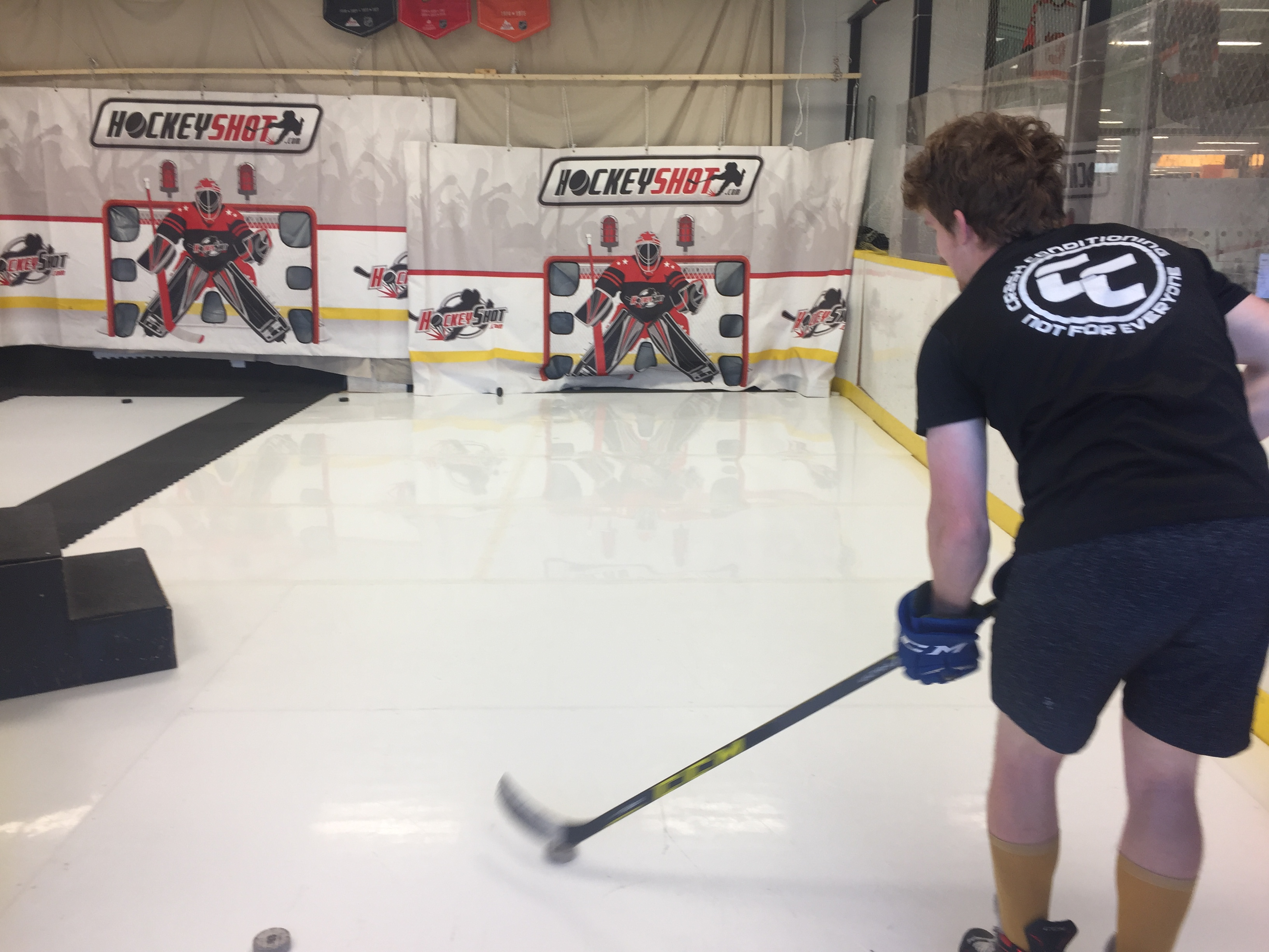Rapid Shot Hockey Shooting in Calgary